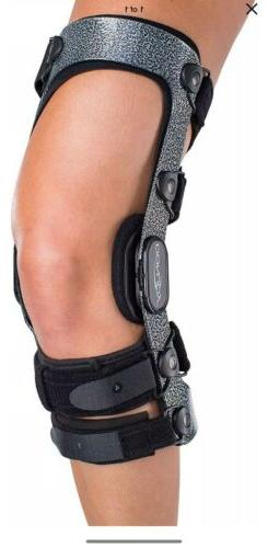 DonJoy Armor Knee Support Brace Short Calf Length, PCL, ACL,