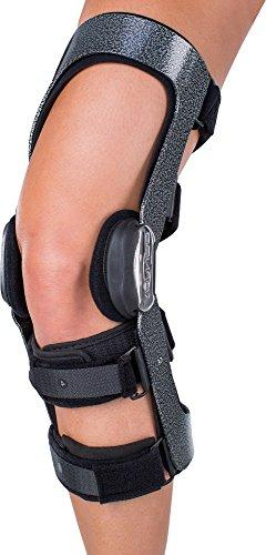 armor knee support brace with fourcepoint hinge