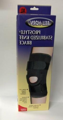 bell horn prostyle stabilized knee brace maximum