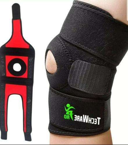 bidirectional 3 strap knee brace support acl