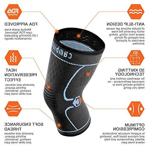CAMBIVO Athletics for Meniscus Tear, Running, Relief, Arthritis Recovery
