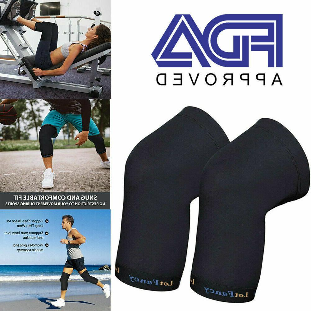 copper infused knee brace fda approved copper