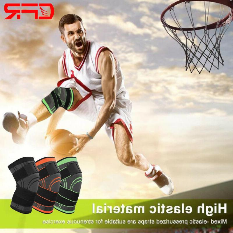 Copper Knee Compression Brace Patella Support Stabilizer Sports Gym