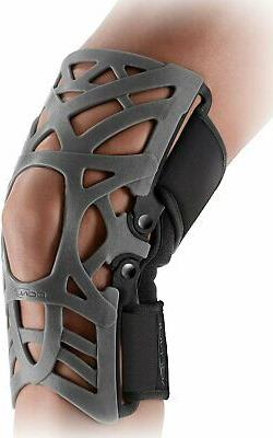 donjoy reaction web knee brace with compression
