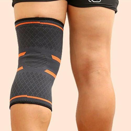 Elastic Compression Knee Support Basketball Running