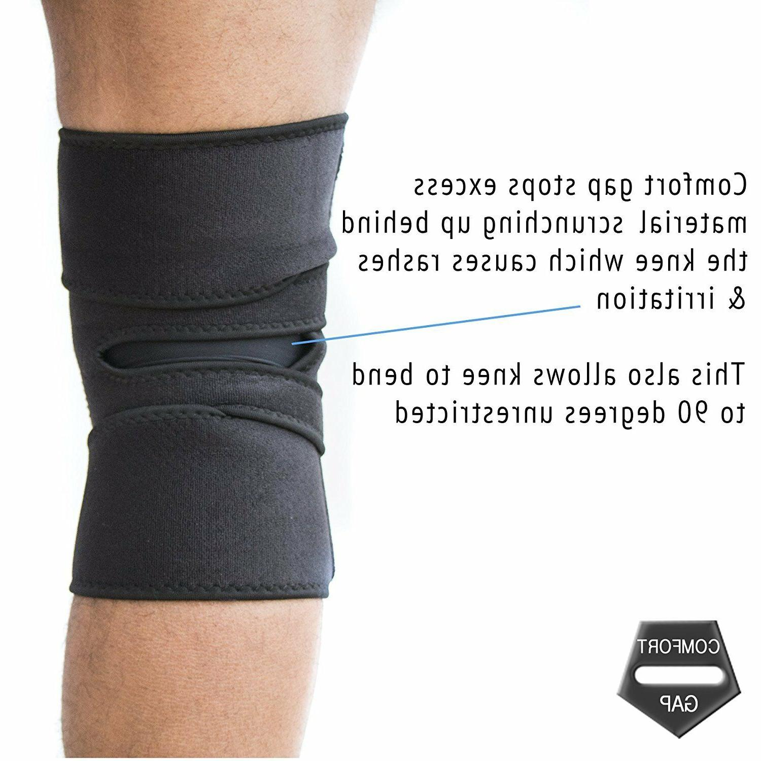 EXOUS Bodygear Brace Support Relieves Tendonitis Helps ACLLCL Liga