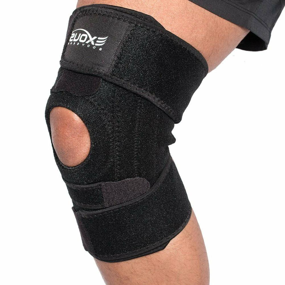 Ace Knee Brace With Side Stabilizers Knee Brace