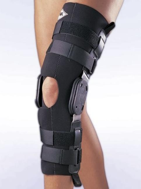 FAST Hinged Knee Splint Right Left Leg ACL