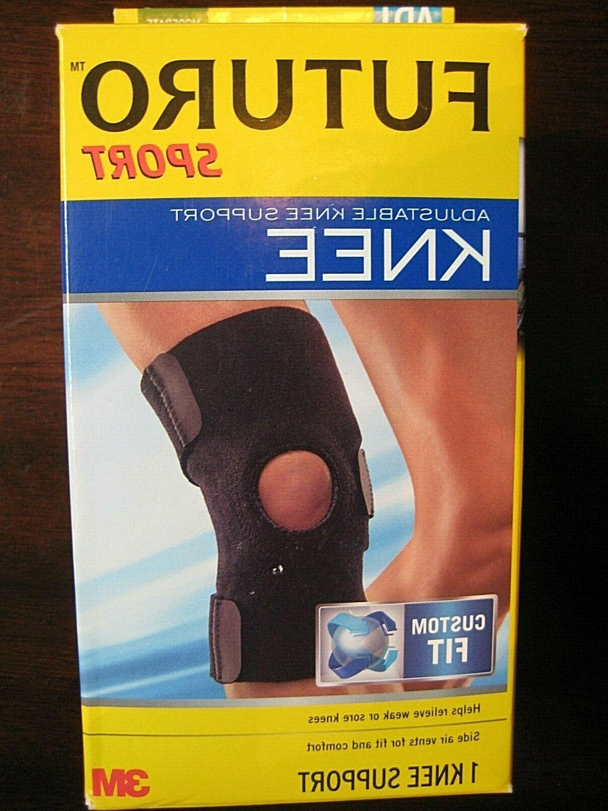 futuro knee brace support adjustable custom fit