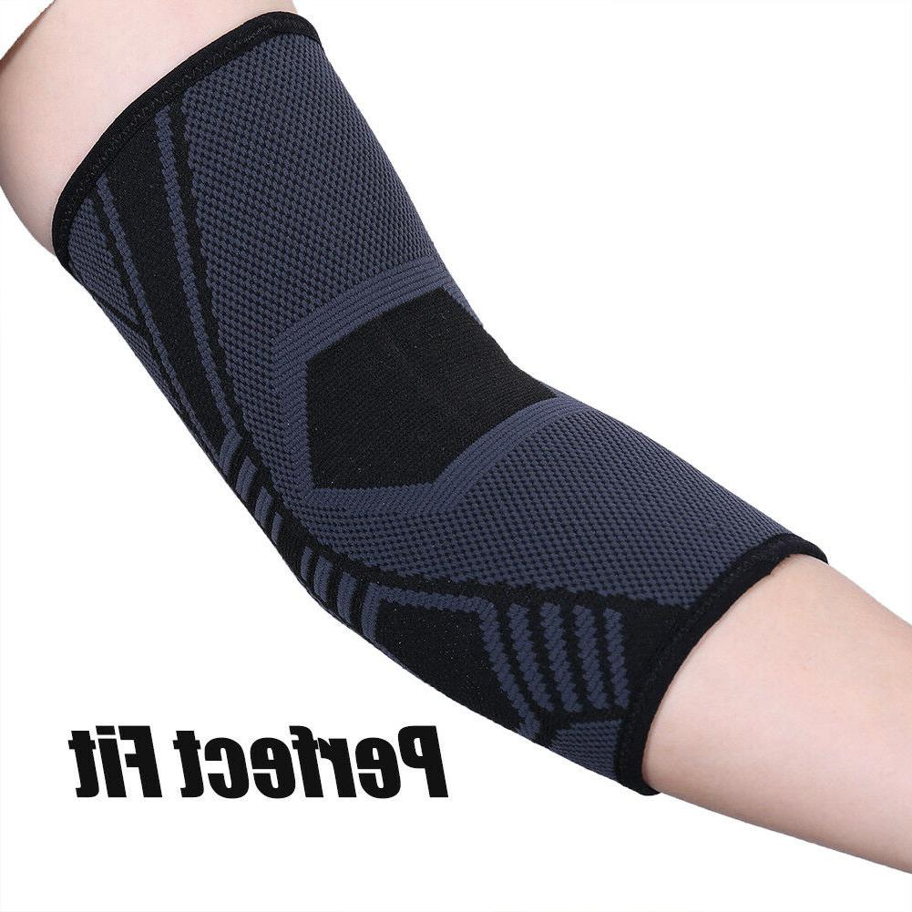 2Pcs Elbow Support Sleeve for Arthritis Tendonitis Pain