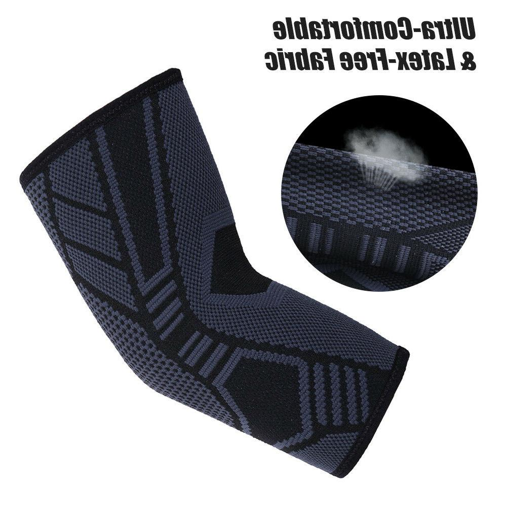 2Pcs Compression Support Sleeve Tendonitis Joint Pain