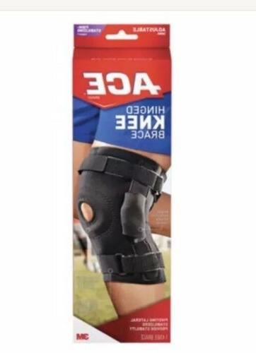 hinged knee br firm stabilizing support 209600