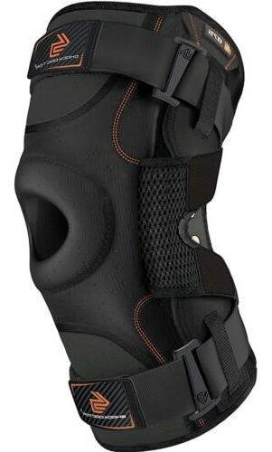 hinged knee brace maximum support compression knee