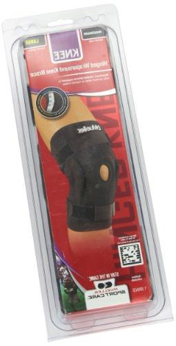 Mueller Hinged Knee Brace, Black,