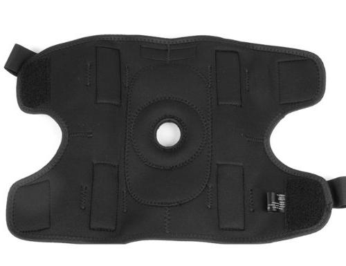 Mueller Hinged Wraparound Brace, Black,