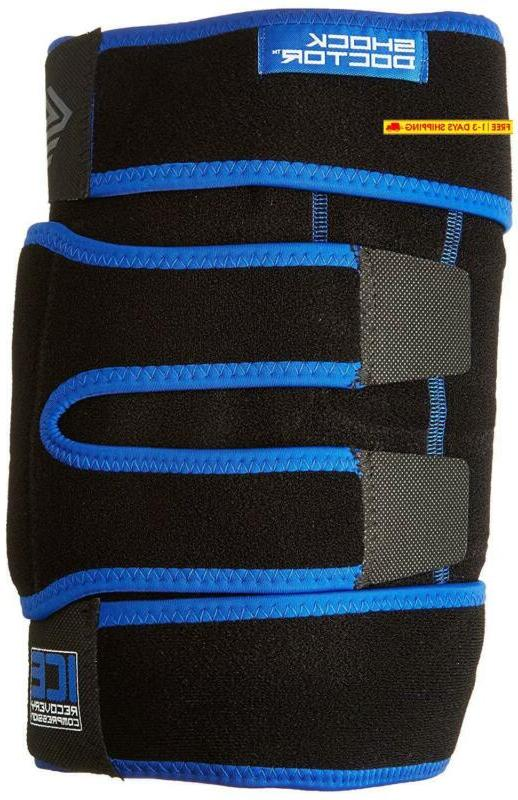 ice pack recovery compression knee wrap brace