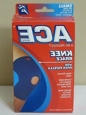 knee br open patella neoprene blend size