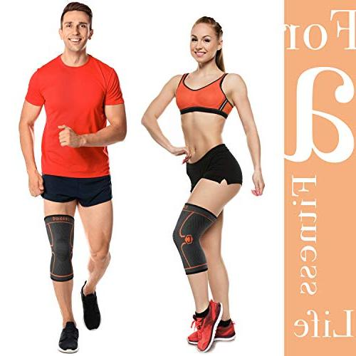 CAMBIVO 2 Brace, Compression Support for ACL, Meniscus Joint Pain Injury Recovery