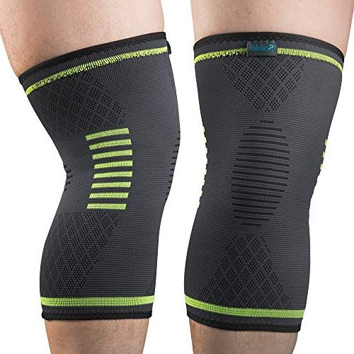 Sable Knee Sleeves 2 Approved, Support ACL, Sports, Meniscus Recovery, Small