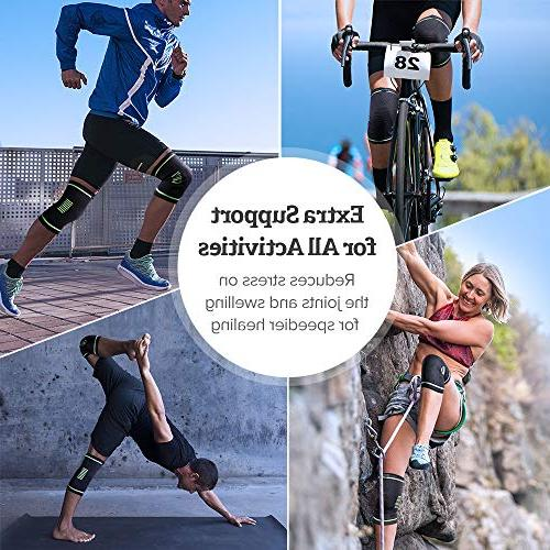 Sable Brace Sleeves Approved, Support for Arthritis, ACL, Biking, Sports, Joint Relief, Meniscus Tear, Recovery,
