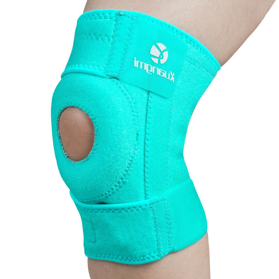 Kuangmi Adjustable Open Patella Injury Pain Relief 1Pc