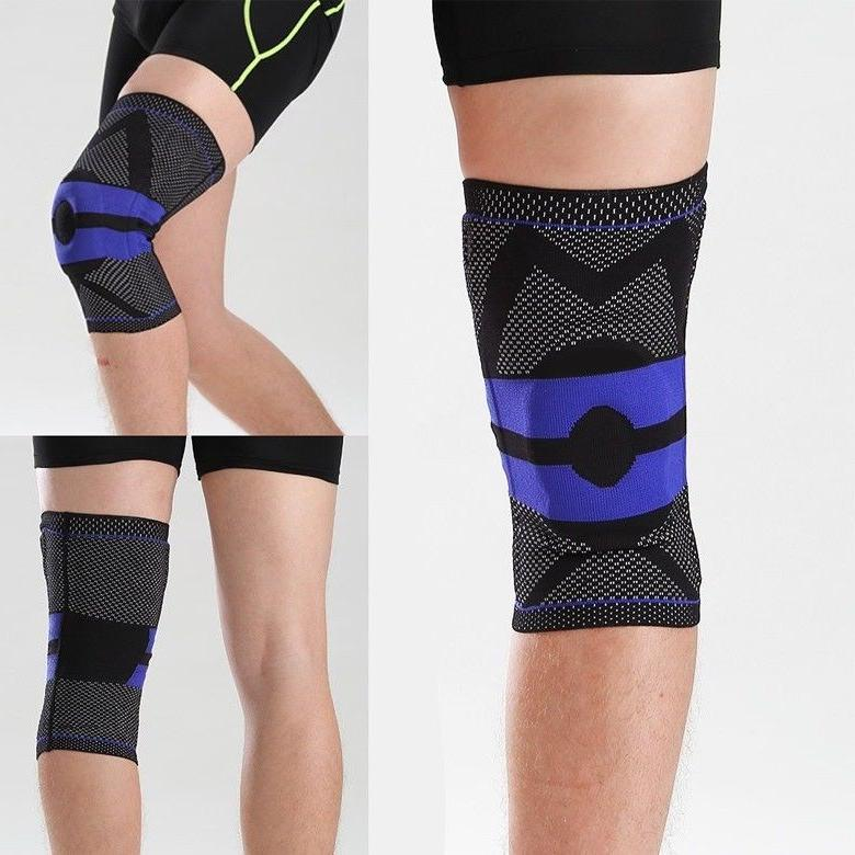 Knee Compression Silicone Meniscus Pain Relief