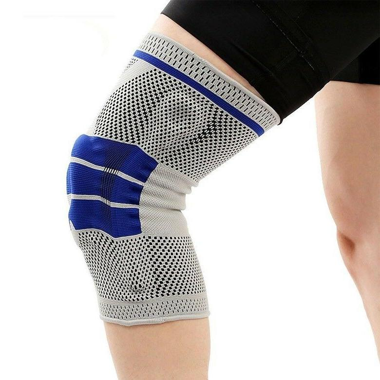Knee Brace Silicone Spring Pain Relief