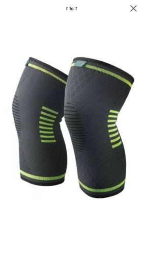knee brace compression sleeve fda approved supports