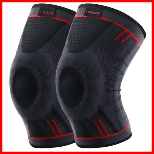 Kuangmi Knee Brace Compression Sleeve Support For Running Jogging Basketball