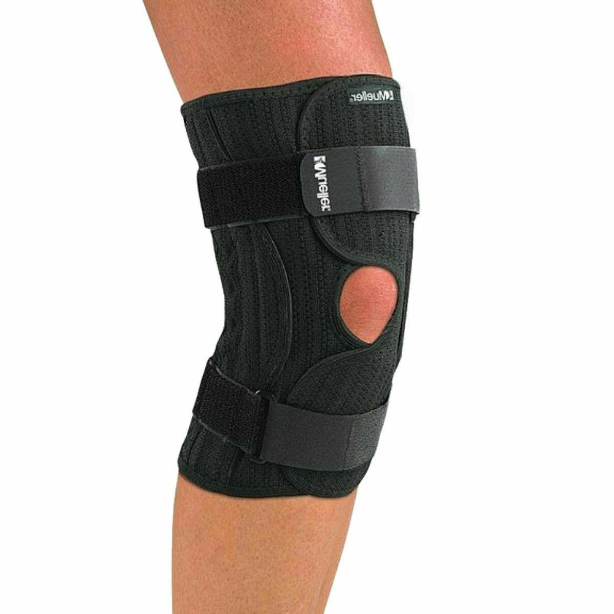 Mueller Knee Brace Elastic, Black, Small/medium