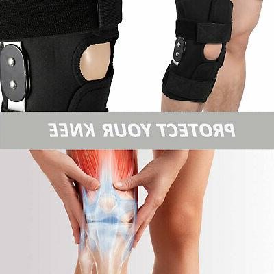 Knee Brace Compression Sleeve Support Patella
