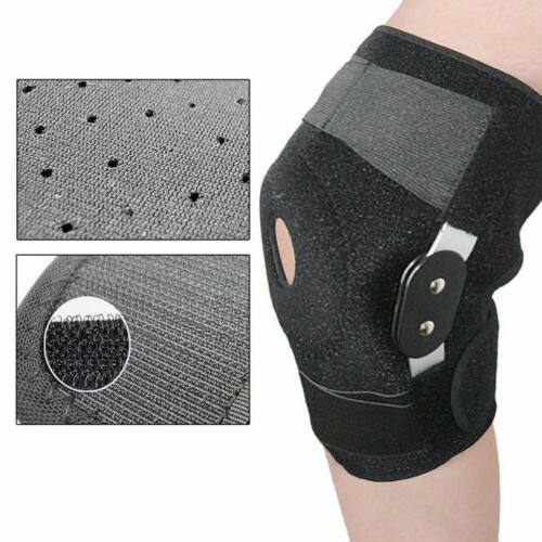 knee brace hinged jiont support open patella