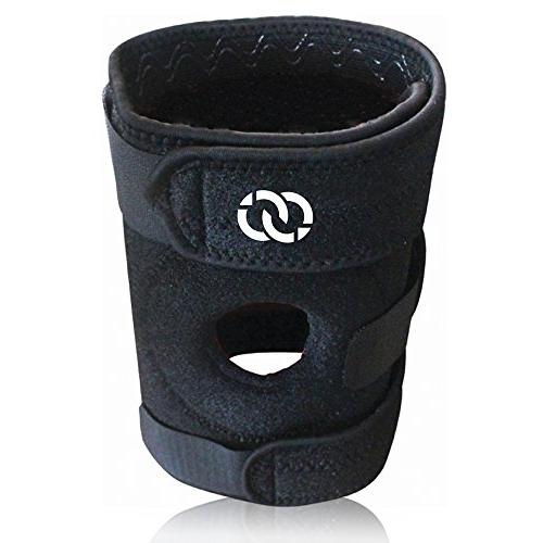 Compressions Knee Brace Support - Patella Stabilizer Veclro - Tear, Arthritis, ACL, Sports, Men