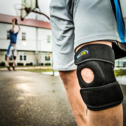 Knee Support Arthritis, Meniscus Tear, Open Protector Neoprene, Best Braces