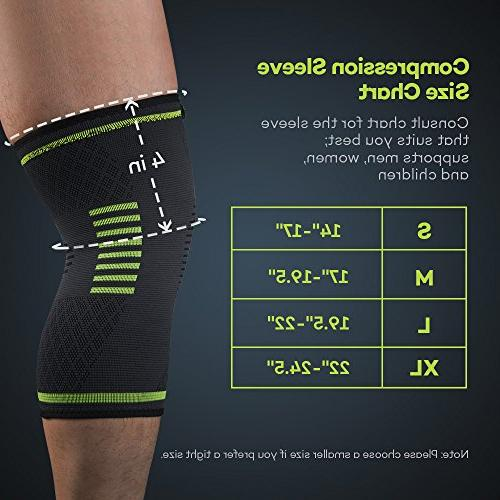 Sable Knee Brace Sleeves 2 Approved, ACL, Basketball Sports, Meniscus Recovery,
