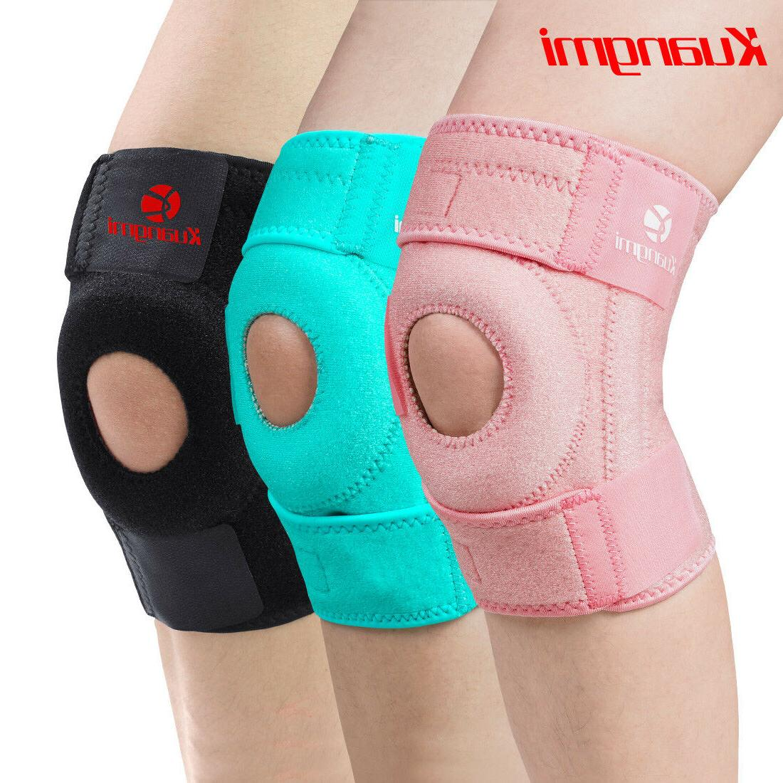 knee brace support open patella stabilizer protector