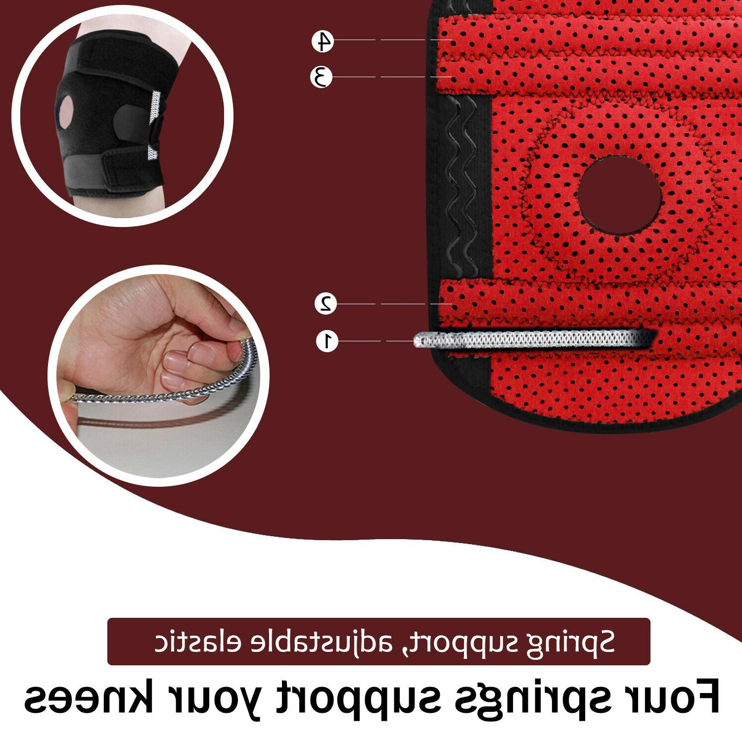 Knee Brace Leg Stabilizer For