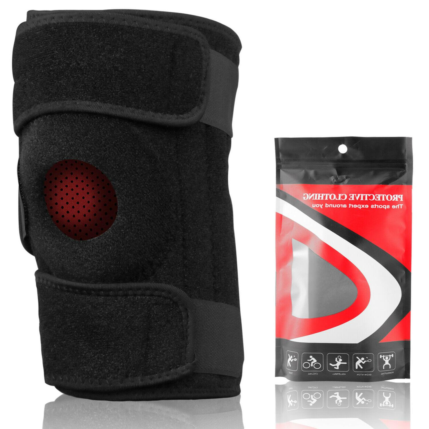 Knee Sleeve Leg Wrap Stabilizer For Arthritis Pain/Running/Gym