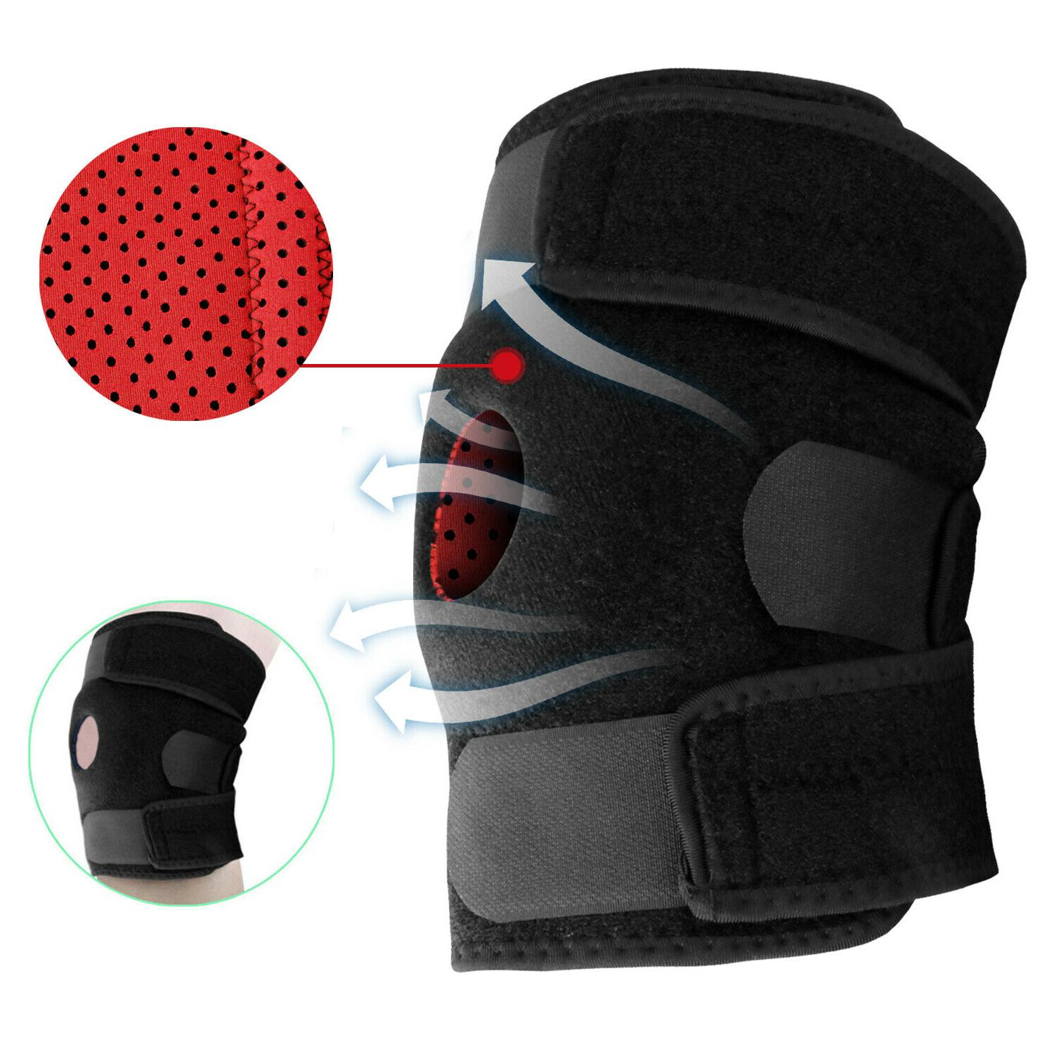 knee brace support sleeve leg wrap cap