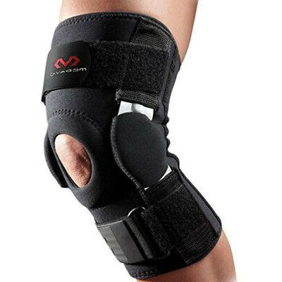 knee brace w dual disk hinges black