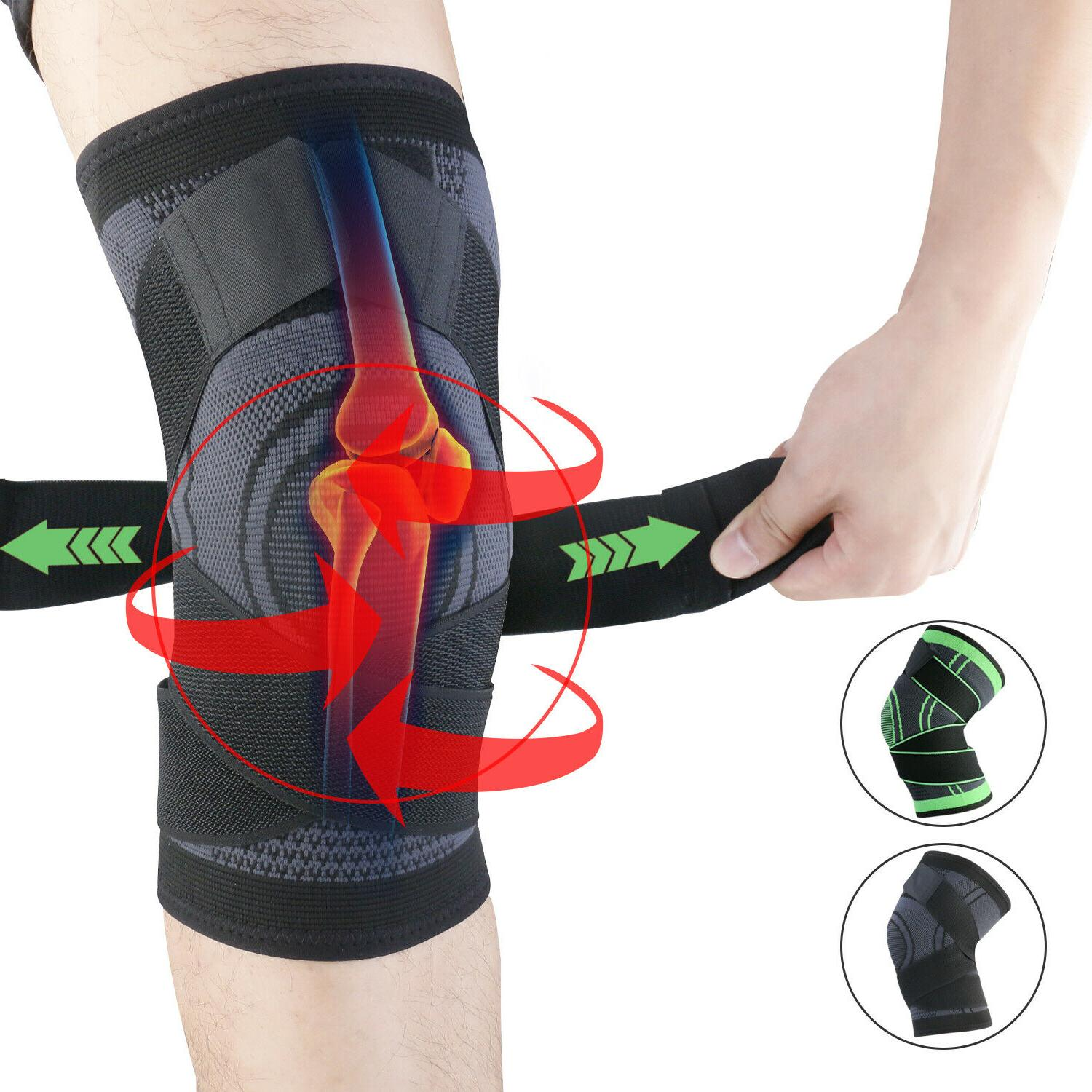 knee compression sleeve brace support relief joint