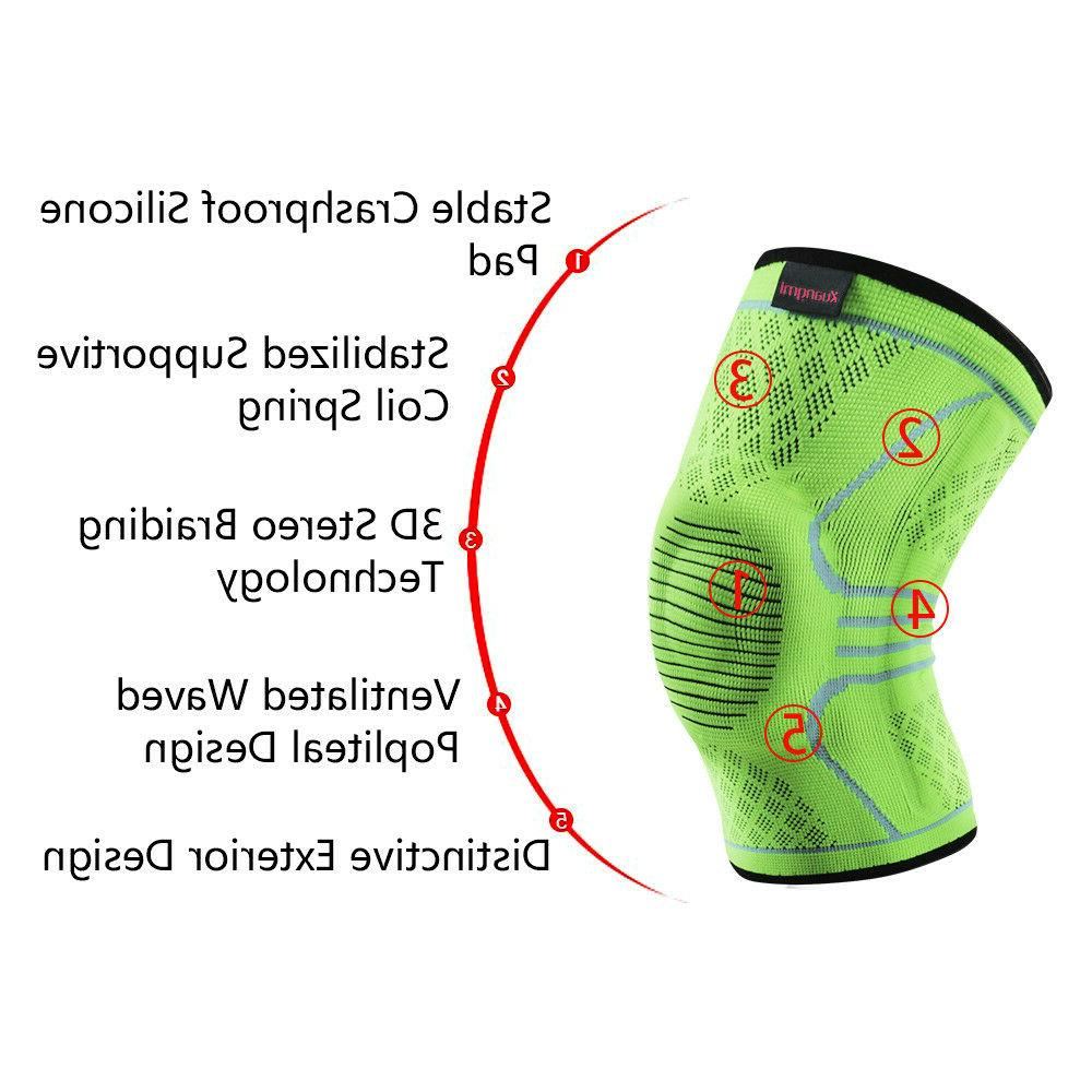 Kuangmi Knee Brace Breathable Sports Support