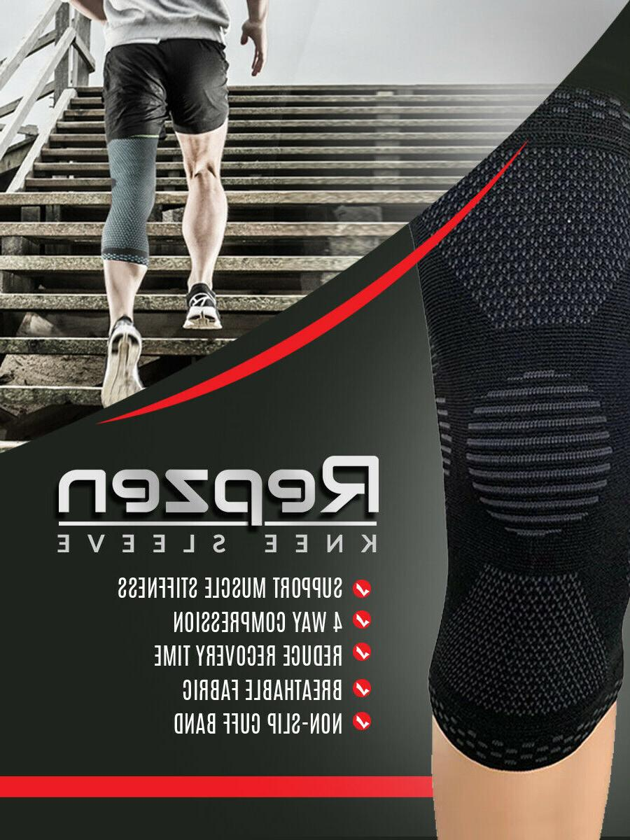 Knee Sleeve Compression Brace Joint pain relief Seller