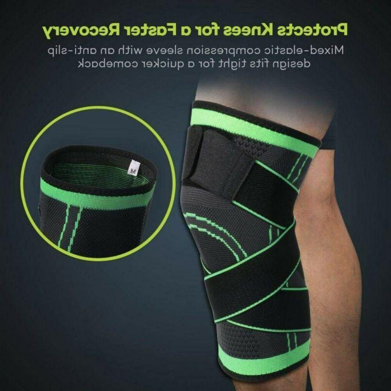 Knee Sleeve Compression Patella Sports Joint Pain