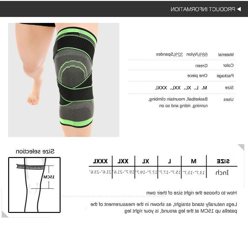 Knee Sleeve Brace Support Joint and Arthritis Relief