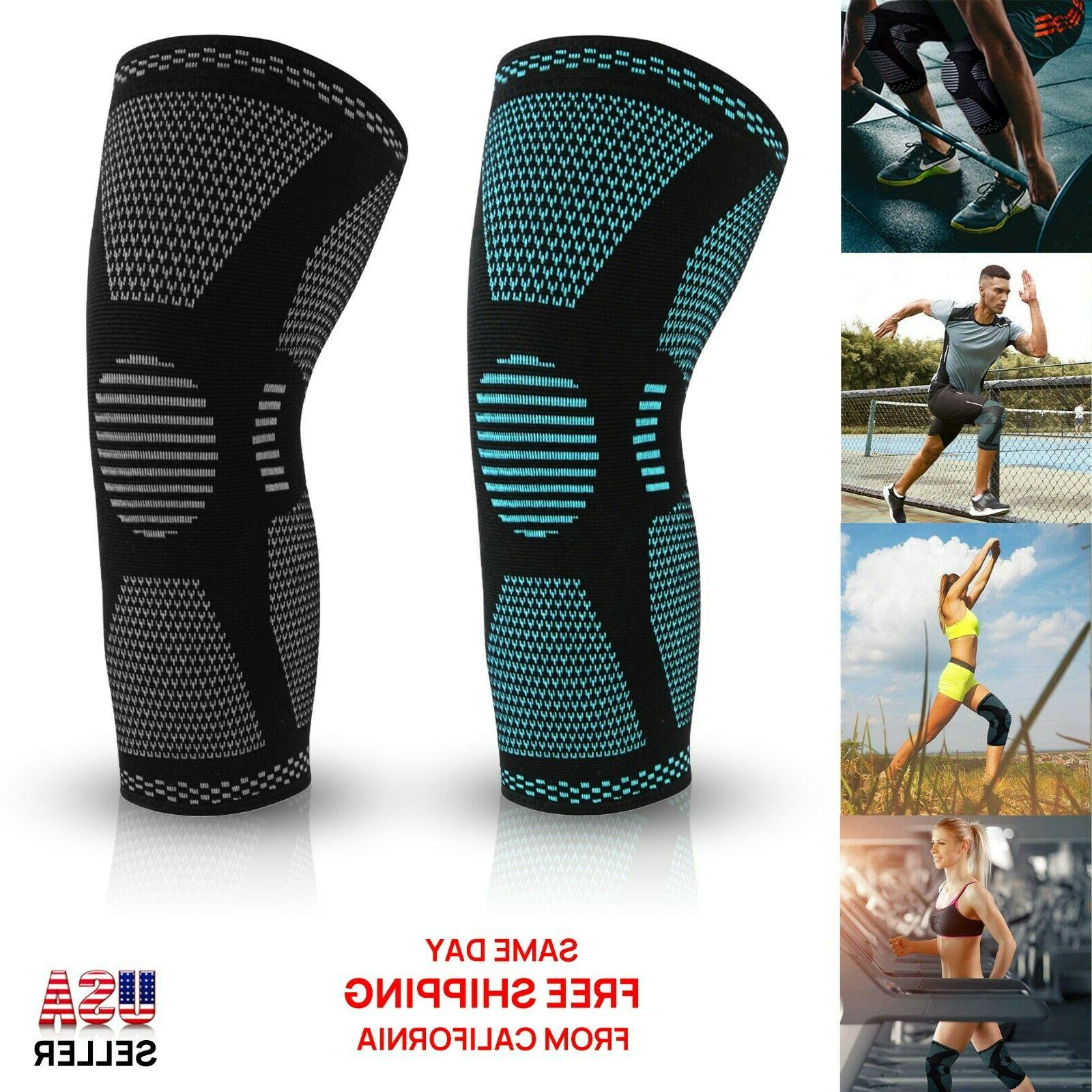knee sleeve compression brace support sport joint