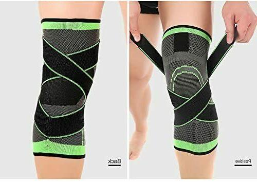2Pack w/Strap Compression Sleeve Pain