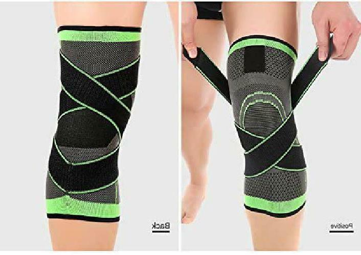 Knee Compression Fit Support -For