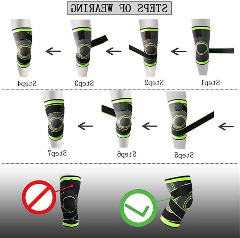 Knee Sleeve, Compression Support And Relief,