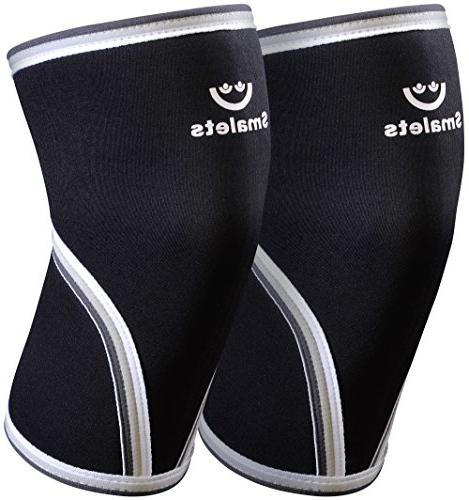 Women's By Smalets – Neoprene Compression Weightlifting & & Squats Brace For the Running - 15 Warranty Black